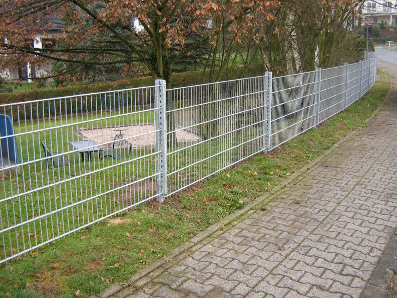 Doppelstab-Gitterzäune