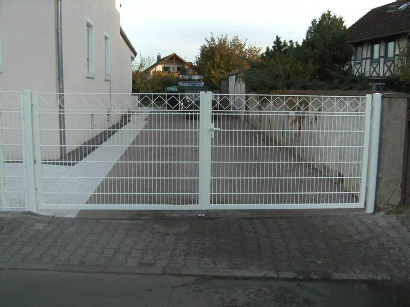 Schmuck-Gitterzäune